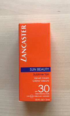 Lancaster Sun Beauty Sublime Tan Velvet Cream SPF 30 Travel Size • 3.99£