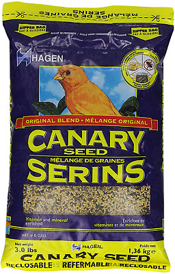 Hagen Canary Seed Vitamin And Mineral Enriched, 1.36 Kg. • 5.99£