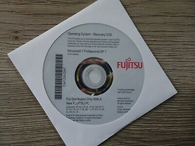 Fujitsu Siemens Recovery DVD Windows 7 SP1 32 Bit  • 12.93£