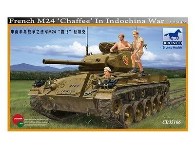 $54.98 • Buy Bronco 1/35 French M24 Chaffee In Indochina War #35166  *Sealed*