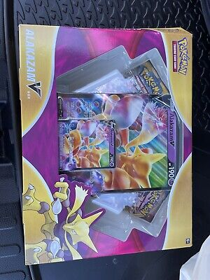 AU2.25 • Buy Pokemon Alakazam V Box Sun And Moon Sword And Shield Booster Pack