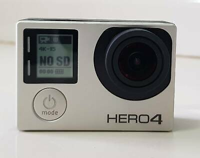 AU100 • Buy GoPro Hero 4 Silver 4K Immaculate Condition + Extra Battery, Waterproof Case