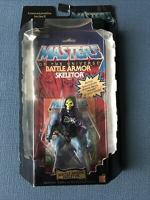 $42 • Buy Masters Of The Universe Commemorative Series 2 Battle Armor Skeletor Figure NIB
