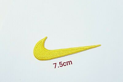 £1.75 • Buy Sports Badges Logo Colourful Nike Yellow Embroidered Sew On Iron On Patch