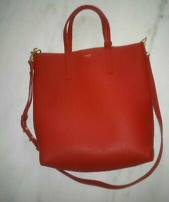 AU87 • Buy Oroton Red Leather Tote Bag