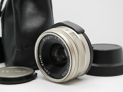 $ CDN416.65 • Buy [Mint] CONTAX Carl Zeiss Biogon T* 28mm F2.8 For Contax G1 G2 W/ Case From JAPAN
