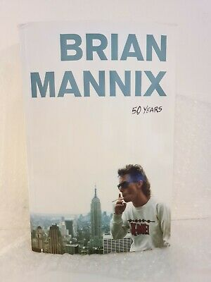 AU150 • Buy Brian Mannix 50 YEARS Autobiography Signed & Numbered