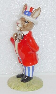 Royal Doulton Platinum Bunnykins DB175 Uncle Sam Colourway 10th Anniversary NEW  • 29£