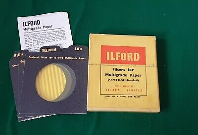 Ilford Filters  For Multigrade Paper • 3£