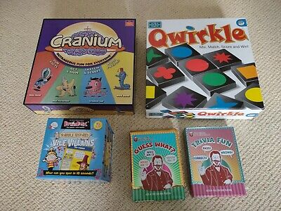 $ CDN70.80 • Buy Cranium, Qwirkle, Brainbox Horrible Histories, Guess What?,  Trivia Fun
