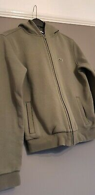 Childs Genuine Lacoste Hooded Jacket / Tracksuit Top JD Age 12 • 10£