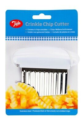 £5.90 • Buy Tala Crinkle Cutter Chips Potato Blade Stainless Steel Kitchen Tool