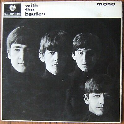 £40 • Buy BEATLES With The Beatles LP MONO PMC 1206 UK 1963 2nd Pressing Yellow Parlophone