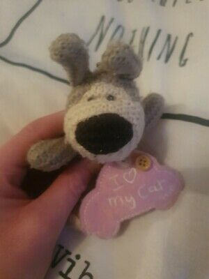Boofle Bear Plush I Love My Car Keyring • 2.99£