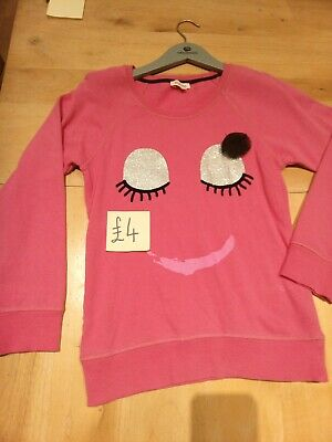 Blue Zoo Sweat Top Shirt Pink Face 13 - 14 Years Age  • 4£