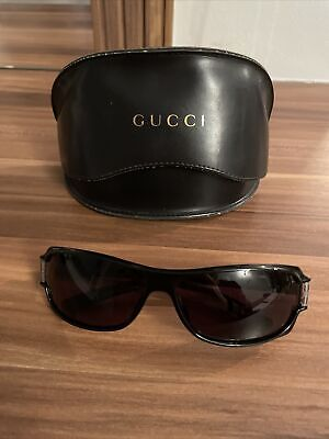 Vintage Ladies Gucci Sunglasses With Leather Case & Cloth • 150£