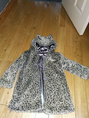 Beautiful Girls Blue Zoo Coat Age 4-5 Debenhams • 4.99£