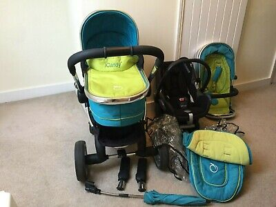 Icandy Peach Sweet Pea 3 In 1 Travel System • 100£