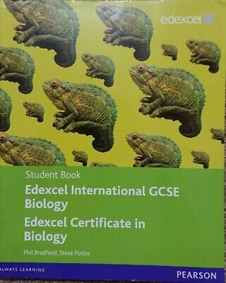 Edexcel IGCSE Biology Student Book With CD (Pearson, Paperback) • 4£