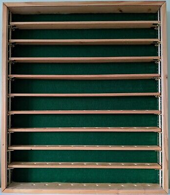 Homemade Wood And Perspex Golf Ball Display Case - Holds 110 Balls • 29.99£