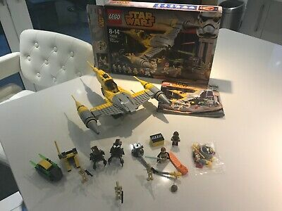 LEGO Star Wars Naboo Starfighter (75092) Complete Set Including Minifigures • 22£