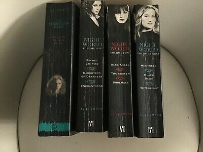 Bundle Of 4 L J Smith Paperback Books Nightworld Series And Forbidden Game • 3.50£