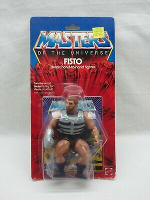 $395 • Buy MOTU,VINTAGE,FISTO,Masters Of The Universe,MOC,carded,sealed,He-Man