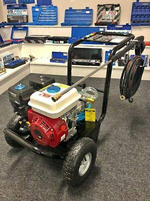 Petrol Pressure Washer - 3500PSI / 240BAR Power Jet Wash Designed By Germany • 285£