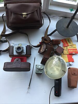 Ilford Sportsman Camera With Lots Accessories Vintage • 18.99£