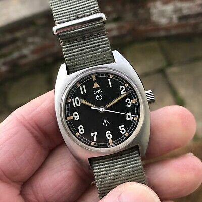 $ CDN902.70 • Buy Lovely Vintage 1976 Military Issued CWC W10 Manual Wind Hacking Watch