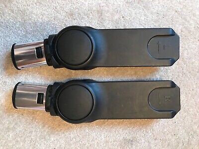 Icandy Peach Maxi Cosi Adapters, Black, Good Used Condition Pre 2014 • 15£