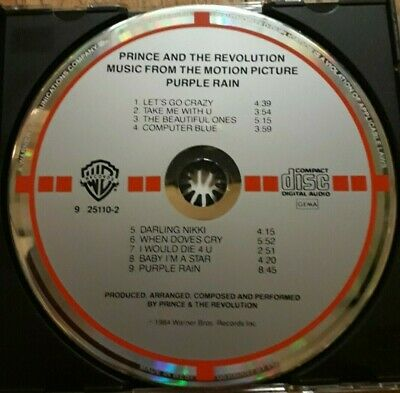 Prince And The Revolution Purple Rain West Germany Target CD • 15£