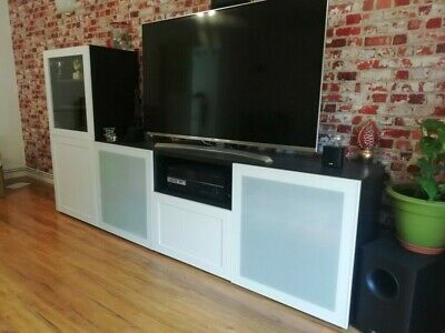 Ikea Besta TV Unit And Display Cabinet - Excellent Condition • 170£