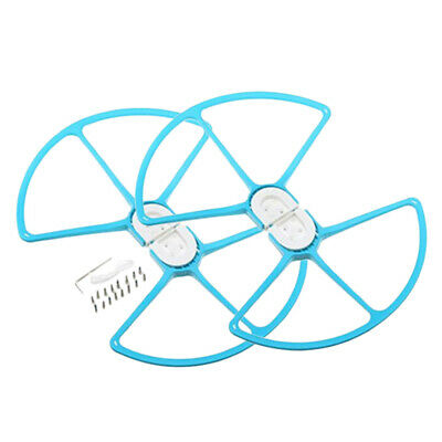 AU16.02 • Buy Propeller Guard Plastic Protect Rings For DJI Phantom 1/2/3 Accessory Blue