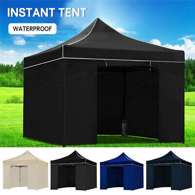 AU129.98 • Buy 3x3M Waterproof Gazebo Pop Up Marquee Outdoor Camping Wedding Folding Tent