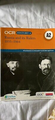 OCR A Level History A: Russia And Its Rulers 1855-1964, Very Good Condition Book • 7.50£