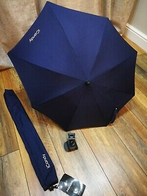ICandy PARASOL And Pram Clip - Blue Matches ICandy Peach Royal Colour • 21.95£