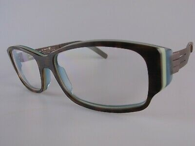 Ic! Berlin Sunglasses NOS Mod Quasar Size 54-17 Handmade In Germany • 49£