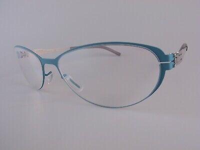 Ic! Berlin Eyeglasses Frames NOS Mod Rossana P Size 53-18 Handmade In Germany • 49£