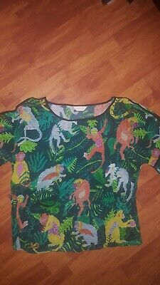 AU99 • Buy GORMAN Monkey Magic Silk Top Size 10