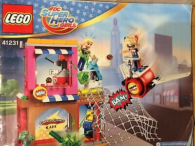 Lego 41231 DC Super Hero Girls Harley Quinn The Rescue Set With Instructions (JT • 25£