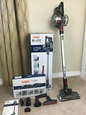 Vax Blade 32V Ultra Cordless Vacuum Cleaner With Pro Kit - Hardly Used • 72£