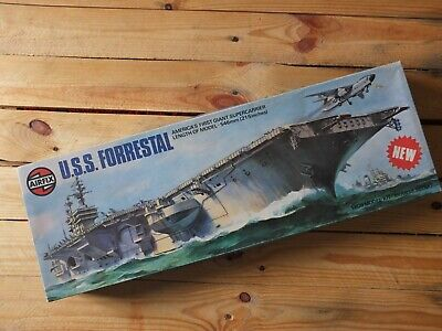 Airfix 10201 - US Aircraft Carrier USS Forrestal Supercarrier  1/600 Kit Started • 50£