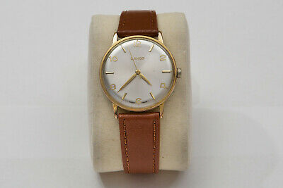 Mens Vintage (1950's) Handwinding Lanco Wristwatch - Good Condition, Working. • 32£