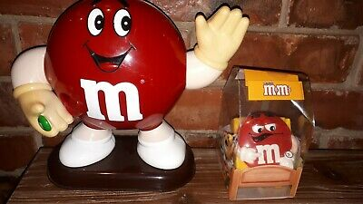 Collectable M&M's Large Red Sweet/Candy Dispenser & Alarm Clock • 4.95£