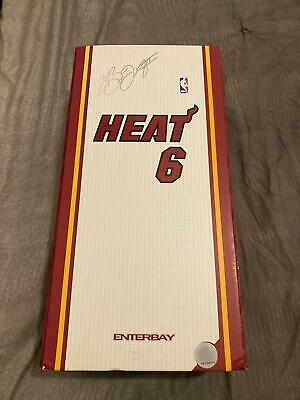 $460 • Buy ENTERBAY Lebron James Miami Heat Limited Edition Action Figure 12 Inch 1/6 Scale