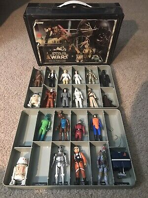 $ CDN403.92 • Buy Star Wars Vintage Kenner Lot- First 12 And 21 Figures W/ Vinyl Case 1978 ANH