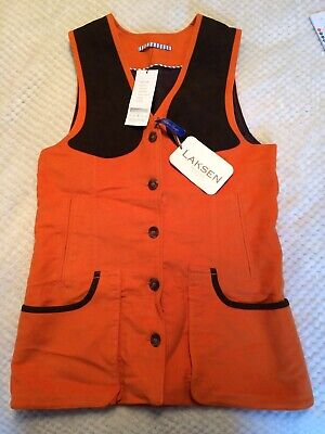BNWT Laksen Lady Broadlands Shooting Vest Size Medium 38 . RRP £155 • 85£