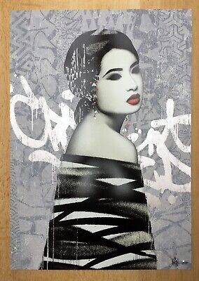 HUSH | RETROVISION  PLATINUM | ARTIST'S PROOF | SIGNED & NUMBERED EDITION Of 25 • 995£