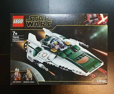LEGO Star Wars 75248 Resistance A-Wing Starfighter Set • 34.99£